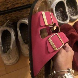 Birkenstock size 8 pink